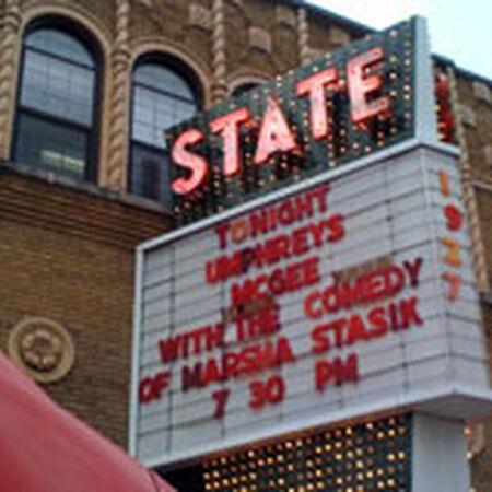 10/02/08 State Theatre, Kalamazoo, MI
