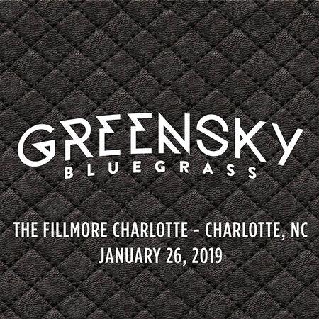 01/26/19 The Fillmore Charlotte, Charlotte, NC