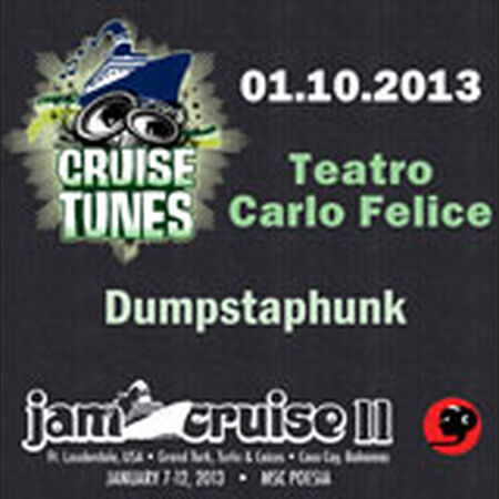 01/10/13 Teatro Carlo Felice, Jam Cruise, US