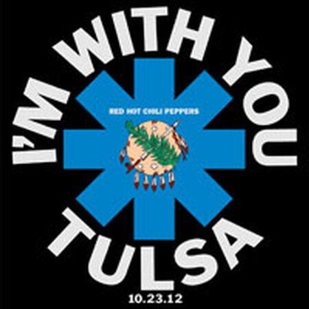 10/23/12 BOK Arena, Tulsa, OK
