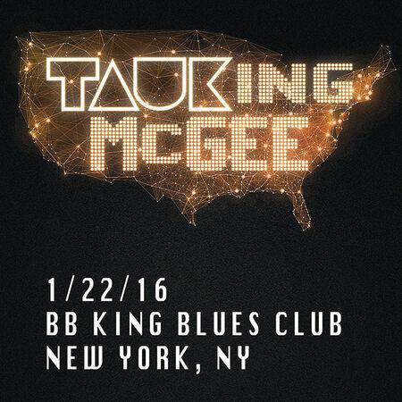 01/22/16 BB King's Blues Club, New York, NY