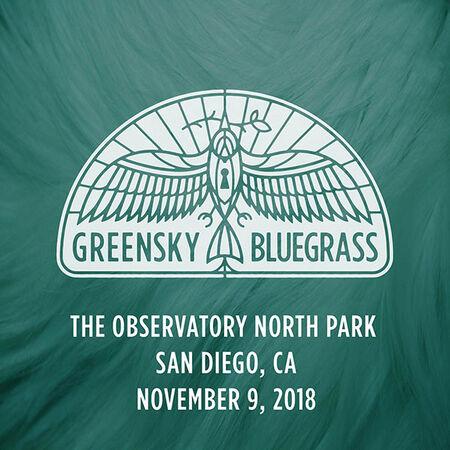 11/09/18 Observatory North Park, San Diego, CA