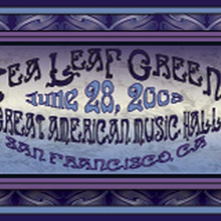 06/28/08 Great American Music Hall, San Francisco, CA