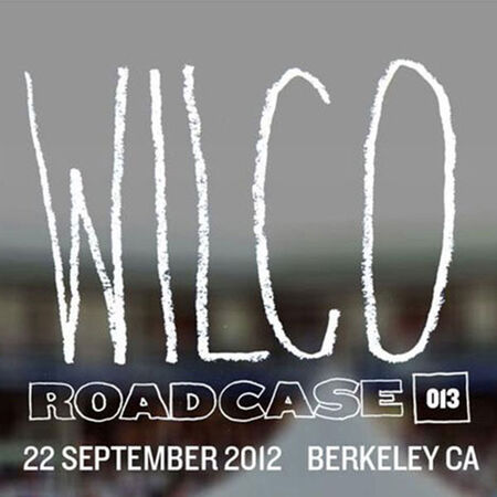 09/22/12 Greek Theatre, Berkeley, CA