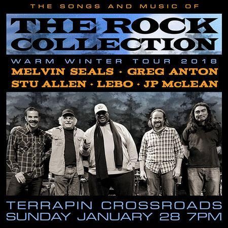 01/28/18 Terrapin Crossroads - Grate Room, San Rafael, CA