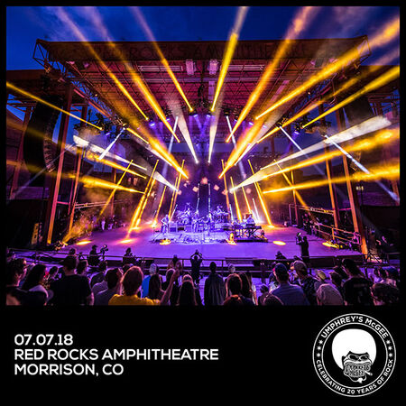 07/07/18 Red Rocks, Morrison, CO