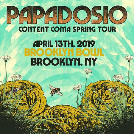 04/13/19 Brooklyn Bowl, Brooklyn, NY