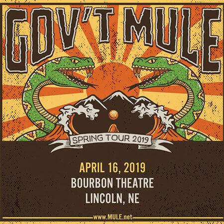 04/16/19 Bourbon Theatre, Lincoln, NE
