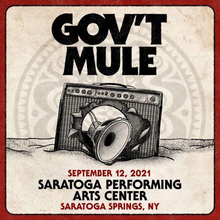 09/12/21 Saratoga Performing Arts Center, Saratoga Springs, NY