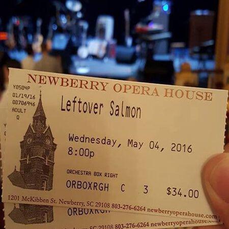 05/04/16 Newberry Opera House, Newberrry, SC