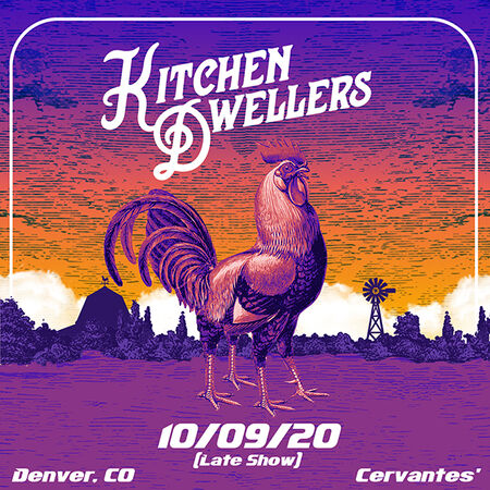 10/09/20 Cervantes' Masterpiece Ballroom - Early Show, Denver, CO