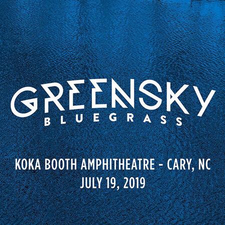 07/19/19 Koka Booth Amphitheatre, Cary, NC