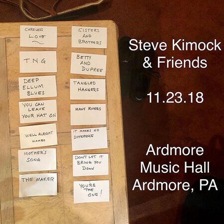 11/23/18 Ardmore Music Hall, Ardmore, PA