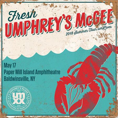 05/17/18 Paper Mill Island Amphitheatre, Baldwinsville, NY