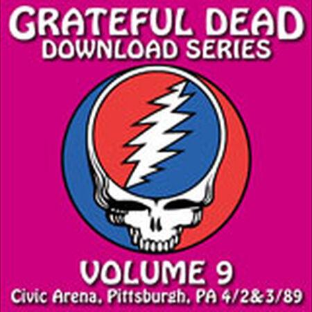 04/02/89 Grateful Dead Download Series Vol. 9: Civic Arena, Pittsburgh, PA