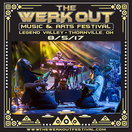 08/05/17 The Werk Out Music & Arts Festival, Thornville, OH
