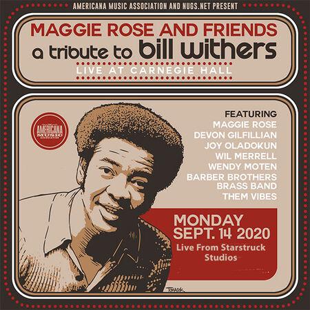09/14/20 Tribute To Bill Withers - Starstruck Studios, Nashville, TN
