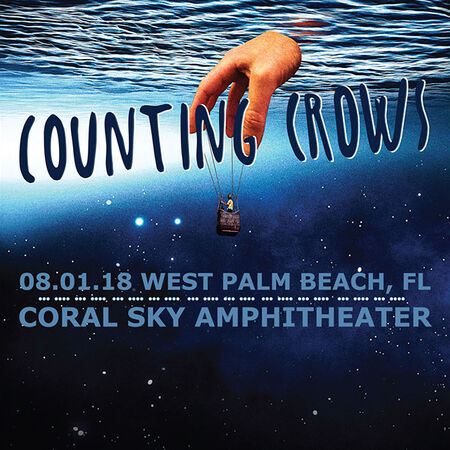 08/01/18 Coral Sky Amphitheater, West Palm Beach, FL