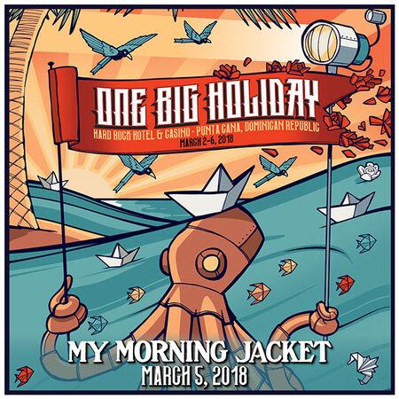 03/05/18 One Big Holiday, Punta Cana, DR