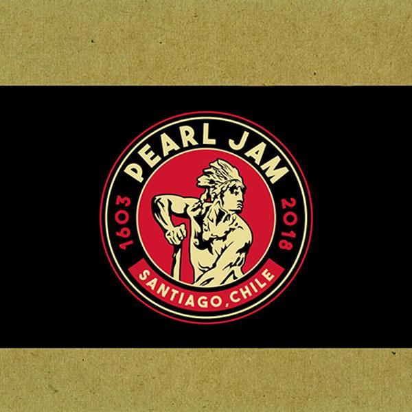 Pearl Jam online-music of 03/16/2018, Lollapalooza, Santiago