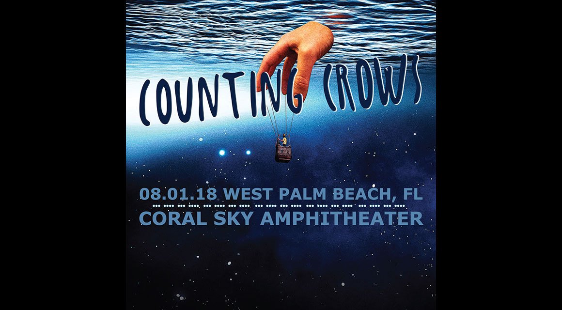 Counting Crows online-music of 08/01/2018, Coral Sky Amphitheater