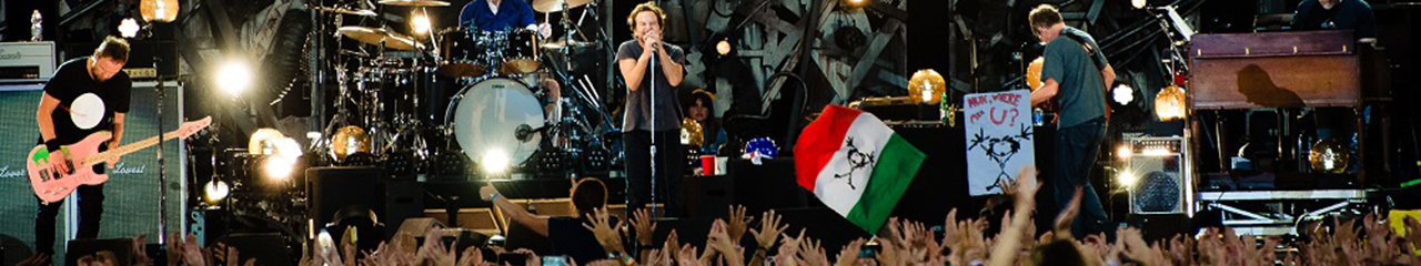 Pearl Jam concert live downloads and online music streaming